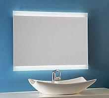 Bricode Süd LED Badspiegel Persis (AQ) Wandspiegel in Ver. Größen & Lichtfarben (neutralweiß, 75x50 cm) Spiegel Lampe für Das Bad