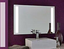 Bricode Süd lichtstarker Badspiegel Tower II (C) Spiegel mit LED Beleuchtung 70cm x 70 cm hohe Leuchtkraft Warmweiß