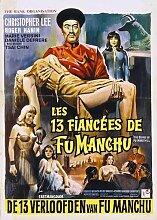 Brides Of Fu Manchu Poster 02 Metal Sign A4 12x8 Aluminium