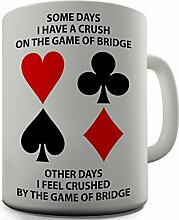 Bridge 2Funny Design Neuheit Geschenk Tee Kaffee Tasse Office