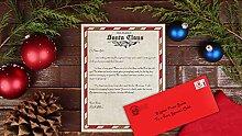 Brief vom Weihnachtsmann - Brief vom Nordpol