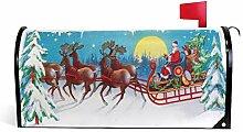 Briefkasten-Abdeckung, magnetisch, Weihnachtsmann