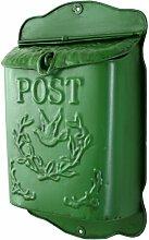 Briefkasten Alwyn Home Farbe: Grün