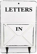 Briefkasten Buchstabe Rack Wand montiert Mail