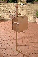 Briefkasten Charlize-antik_braun