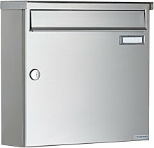 Briefkasten Design BASIC 382A mit Regendach -