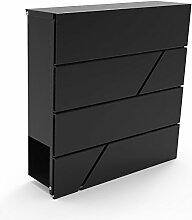 Briefkasten Edelstahl Design Postkasten