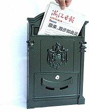 Briefkasten-Landhaus-Briefkasten im Freien