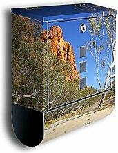 Briefkasten mit Deko Motiv: Alice Springs 1 BK202,