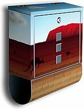 Briefkasten mit Deko Motiv: Ayers Rock BK192,