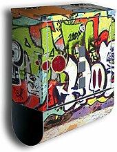 Briefkasten mit Deko Motiv: Graffiti 2 BK26,
