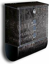 Briefkasten mit Deko Motiv: Grunge BK556,