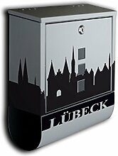 Briefkasten mit Deko Motiv: Stadt Lübeck BK588 ,