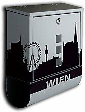 Briefkasten mit Deko Motiv: Stadt Wien BK586 ,
