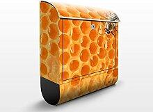 Briefkasten mit Zeitungsrolle Honey Bee 46cm x 39cm