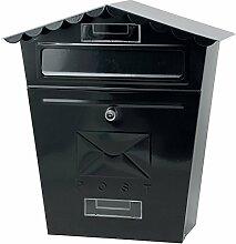 Briefkasten Nostalgie schwarz tolle Optik Brief