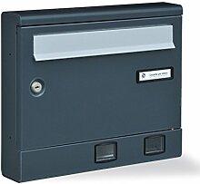 Briefkasten Post grau xrivista