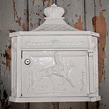 Briefkasten Postillon Wandbriefkasten, weiß