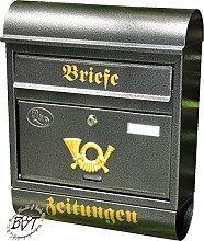 Briefkasten, Premium-Qualität, verzinkt,