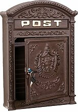 Briefkasten Wandbriefkasten Alu Nostalgie
