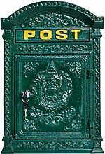 Briefkasten Wandbriefkasten Eisen massiv Nostalgie