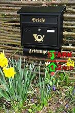 Briefkasten XXL, verzinkt mit Rostschutz F/aP