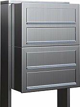 Briefkastenanlage, Design Briefkasten Cube for