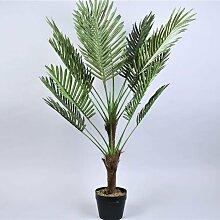 Bries aan Zee | Künstliche Pflanze Palme grün