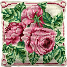 Brigantia Handarbeit Englische Rose grob