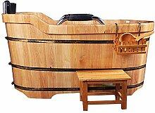 BrightFootBook Holzbadewanne,Holzwaren Sauna