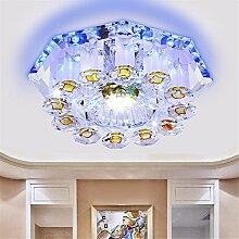 BRIGHTLLT Arcade Lampe LED Deckenleuchte Crystal Kreativ Balkon Aisle Korridor Mentor, 200 * h90mm