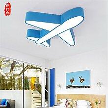 BRIGHTLLT Kreative Farbe cartoon Flugzeug LED Deckenleuchte light boy Kinder Schlafzimmer Studie Kindergarten, 500 mm Lampe