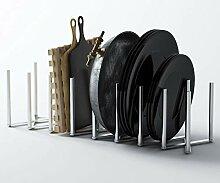 Brightmaison Küchen-Topfdeckel, Pfannenteller,
