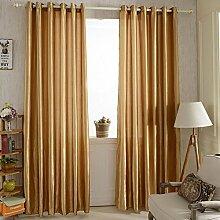 Brightup Satin Fenster Schirm Vorhang Tür Raum Futter Vorhang drapiert Hauptdekor