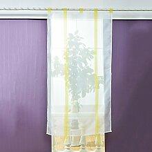 Brightup Vorhänge Fenster Vorhang Modern Sheer Küche Balkon Fenster Voile Liftable Raffrollos