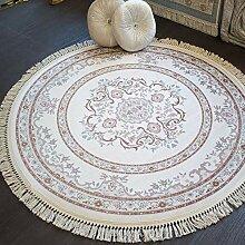 Brillant Teppich Teppich 150 x 150 cm rund