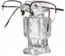 Brillenhalterung Roboter-Design By, Transparent.