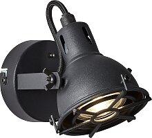 Brilliant Leuchten Jesper LED Wandspot schwarz