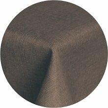 Brilliant Tafeldecke - Rund 140 cm - Dunkelbraun