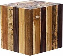 Brillibrum Design Beistelltisch Holz Hocker aus