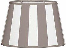 Brillibrum Design Lampenschirm gestreift