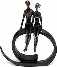 Brillibrum Design Skulptur Liebespaar aus