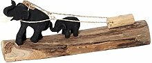 Brillibrum Figur Arbeitselefant Elefant Holz Deko