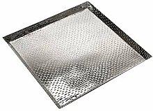 Brillibrum TABLETT Aluminium QUADRATISCH