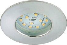 Briloner LED-Einbaustrahler Attach Dim 1er Alumium