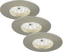 Briloner Leuchten 7204-032 LED Einbauleuchte, LED