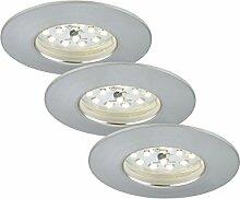 Briloner Leuchten 7204-039 LED Einbauleuchte,