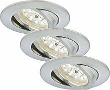Briloner Leuchten 7232-039 LED-Einbauleuchten,