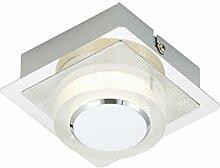 Briloner Leuchten Deckenleuchte, LED Lampe, Deckenlampe, LED Strahler, Spots, Wohnzimmerlampe, Deckenstrahler, Wandlampe, Deckenspot, Deckenbeleuchtung