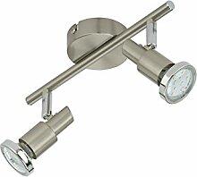 Briloner Leuchten LED Deckenleuchte, 2 dreh- &